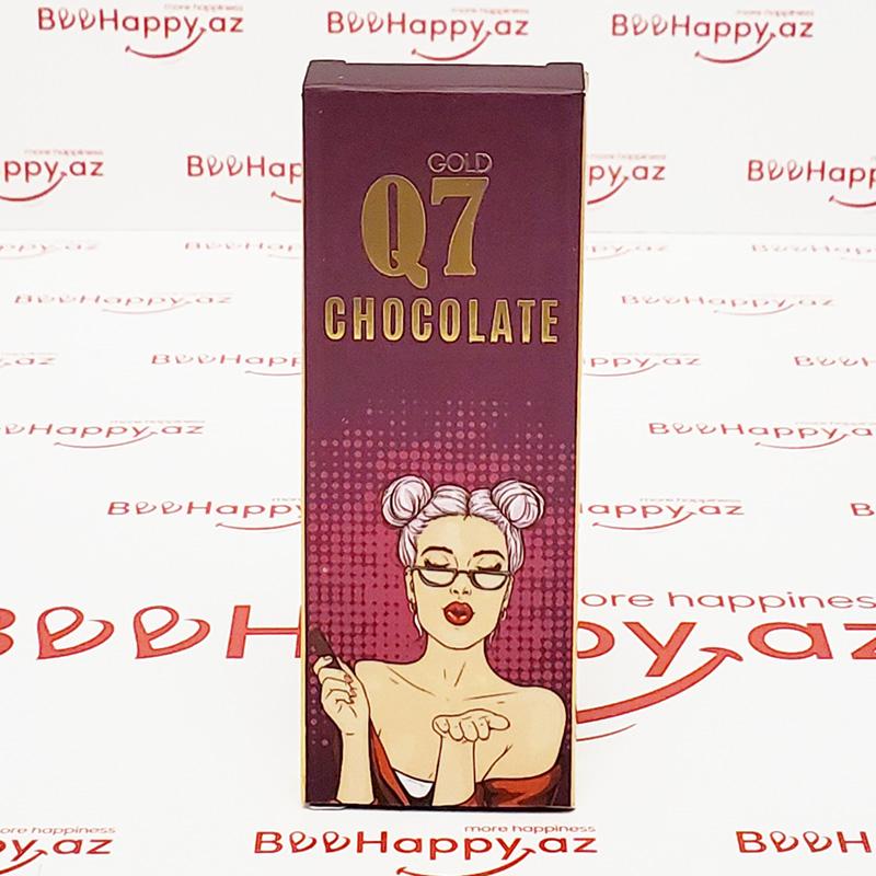 Q7 Chocolate N1 - Qadın üçün ehtiras şokoladı