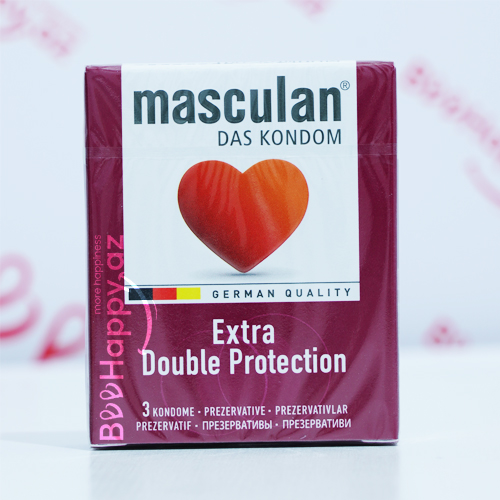 Masculan Extra Double Protection N3
