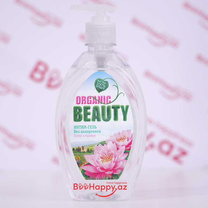 Organic Beauty intim gel 500ml