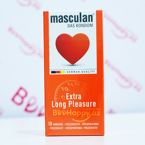 Masculan Extra Long Pleasure N10