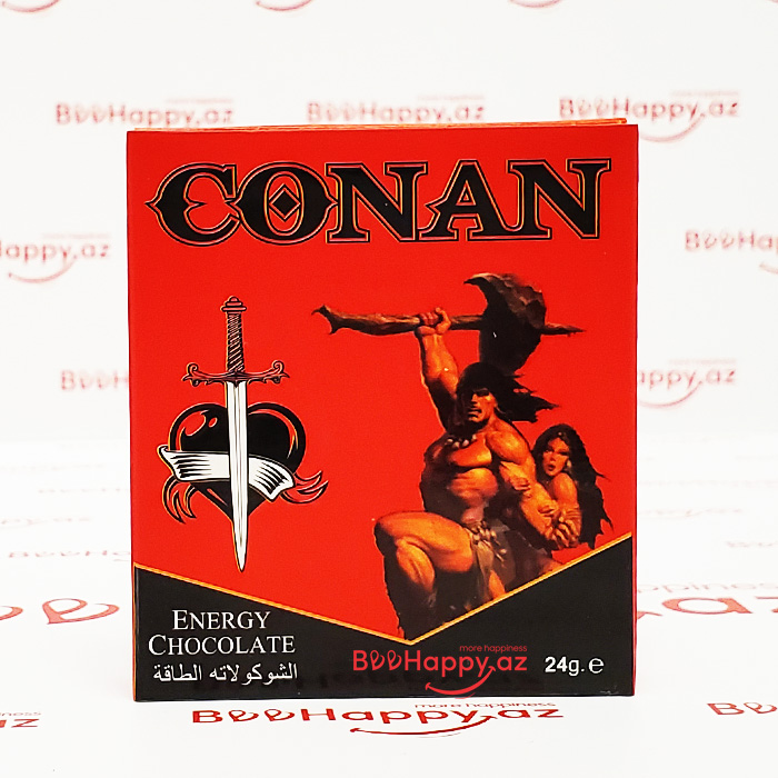 Conan Energy Chocolate - Ehtiras şokoladı