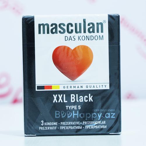 Masculan XXL Black  N3