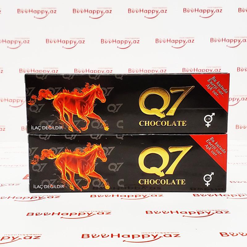 Q7 Chocolate N1 – Ehtiras və Gecikdirici şokolad