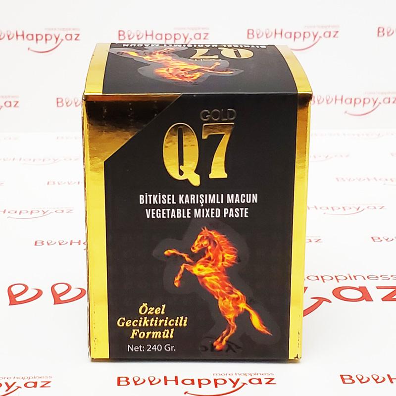 Q7 Gold Macun 240 gr - Ehtiras və geciktirici macun