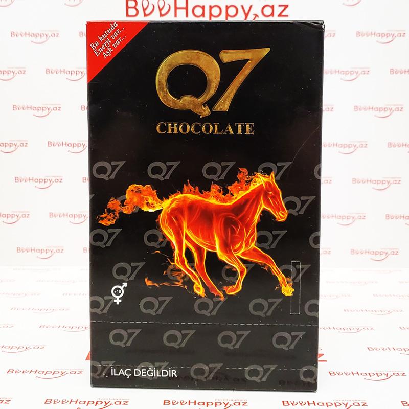 Q7 Chocolate N12 – Ehtiras və Gecikdirici şokolad