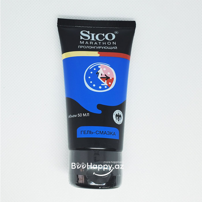 Sico Marathon Gel 50ml - Gecikdirici gel